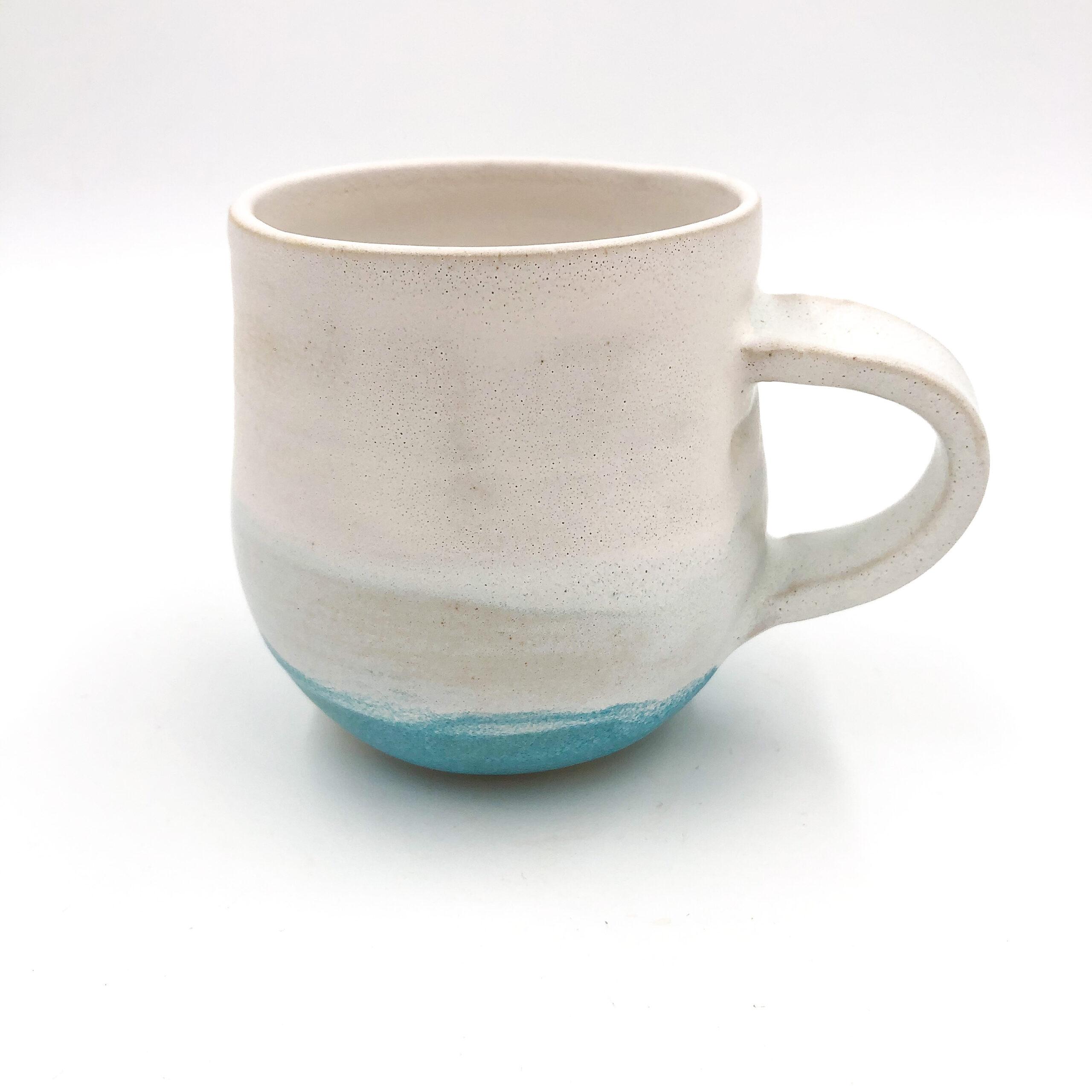 Round bottom mug no handle